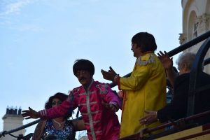 The Beatles for Sale perform at Hastings Pride. Beatles tribute band available for events.